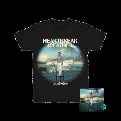 Niall Horan: Heartbreak Weather Black T-Shirt + CD