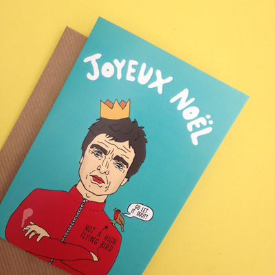 Oasis: Joyeux Noel Xmas Card