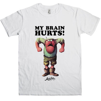 Monty Python: Gumby My Brain Hurts T-Shirt