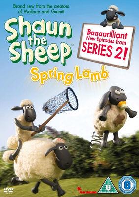 Shaun the Sheep: Spring Lamb DVD