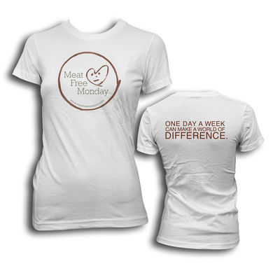 Meat Free Monday: MFM Logo Ladies T-Shirt
