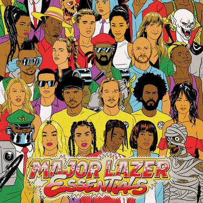 Major Lazer: Essentials - CD