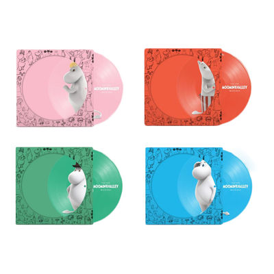 Various Artists: Moominvalley: Picture Disc Bundle