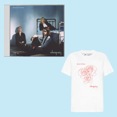 Whenyoung: White Tee / CD Bundle