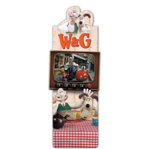 Wallace & Gromit: Magnetic Bookmark: Tea Time