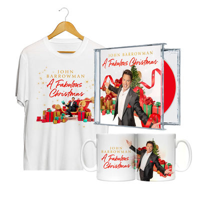 John Barrowman: A Fabulous Christmas Ultimate Gift Bundle