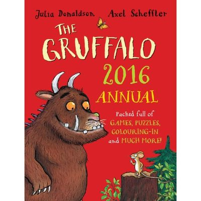 Donaldson and Scheffler: The Gruffalo Annual 2016 (Hardback)