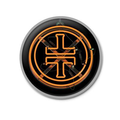 takethat: TT Orange Logo Enamel Pinbadge