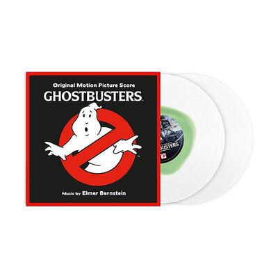Elmer Bernstein: Ghostbusters OST 35th Anniversary Edition: Limited Clear & Slime Green Splat Vinyl