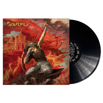 Soulfly: Ritual Limited Edition Gatefold Vinyl + Signed Insert