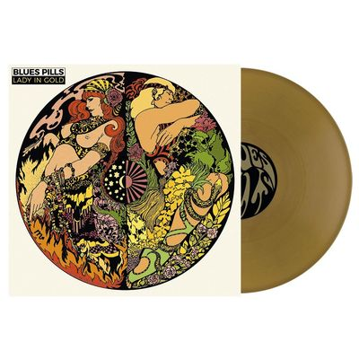 Blues Pills: Lady In Gold: Gatefold Gold Vinyl + Signed Insert
