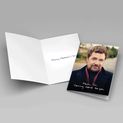 Michael Ball: Coming Home To You Mother's Day Card