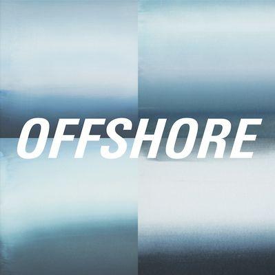 Offshore: Offshore: Blue + White Marbled Vinyl