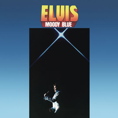 Elvis Presley: Moody Blue: 40th Anniversary Clear Blue Vinyl