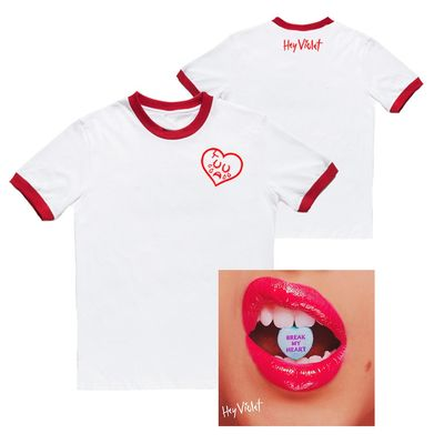 Hey Violet: Break My Heart T-Shirt & Single Bundle