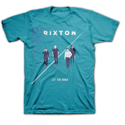 Rixton: Let The Road Album T-Shirt