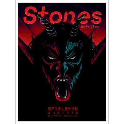 The Rolling Stones: Spielberg Krampus Print