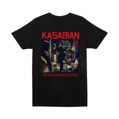 Kasabian: Lunatic Asylum T-shirt