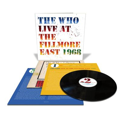 The Who: Live At The Fillmore East 1968: Deluxe Edition + 12x12 Art Print