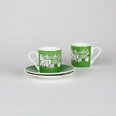 Abbey Road Studios: Green Studio Two Espresso Cup & Saucer Set