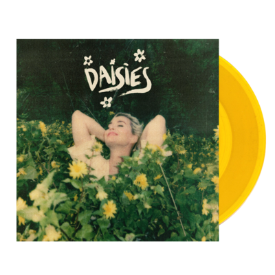 """Katy Perry: Signed Daisies 7"""" Vinyl"""