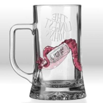 The Longest Johns: Glass Mug