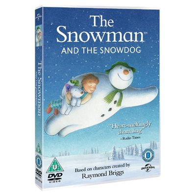 The Snowman: The Snowman and The Snowdog (DVD)