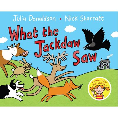 Julia Donaldson: What the Jackdaw Saw (Hardback)
