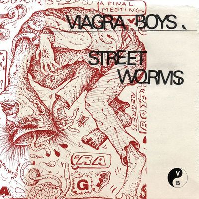 Viagra Boys: Street Worms: Limited Edition Signed CD with Fortune Cookie