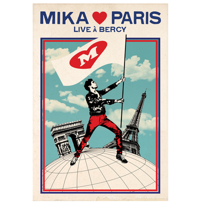 MIKA: MIKA LOVES PARIS DVD
