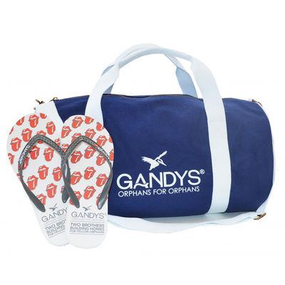 The Rolling Stones: Gandy's-Blue Barrel Bag