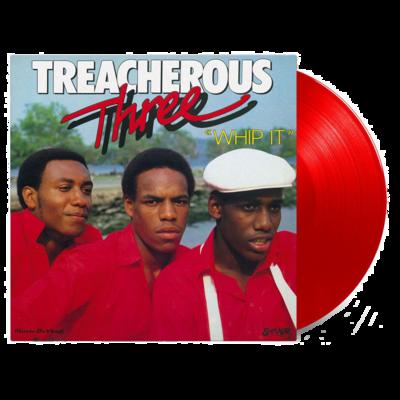 Treacherous Three: Whip It: Limited Edition Red Vinyl