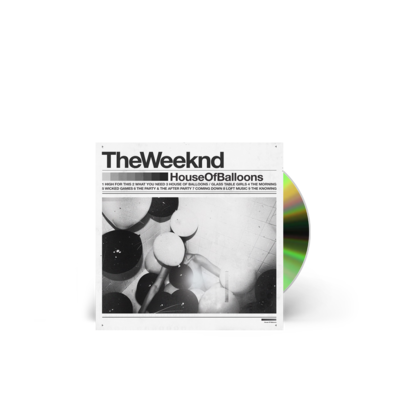 The Weeknd: House Of Balloons CD