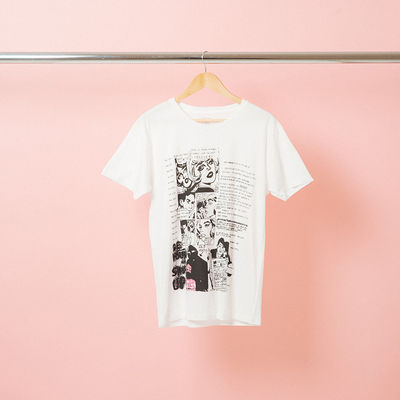 The 1975: Comic Strip Distressed T-Shirt