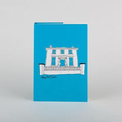 Abbey Road Studios: Abbey Road House Hardback Notebook Blue A5