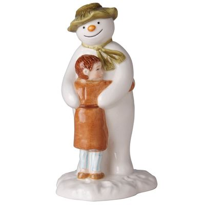 The Snowman: The Snowman and James Hugging