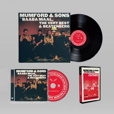 Mumford & Sons : Johannesburg Music Bundle