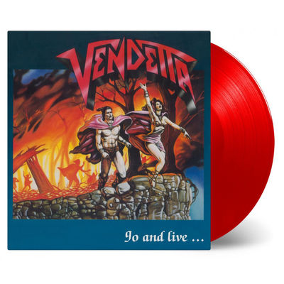 Vendetta: Go And Live... Stay And Die: Red Numbered Vinyl