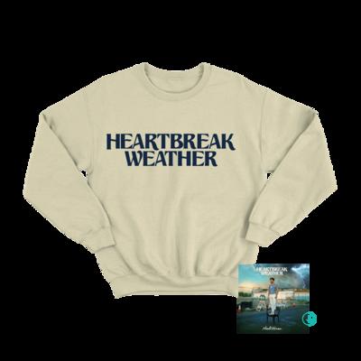 Niall Horan: Heartbreak Weather Sand Crewneck Sweater + CD