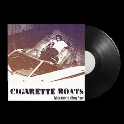 Curren$y & Harry Fraud       : Cigarette Boats: Black Vinyl LP