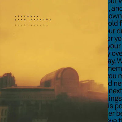 Stargaze & Greg Saunier: Instruments [A Track By Track Re-Composition of Fugazi's In On The Killtaker]: Limited Edition Gold Vinyl [RSD 2019]