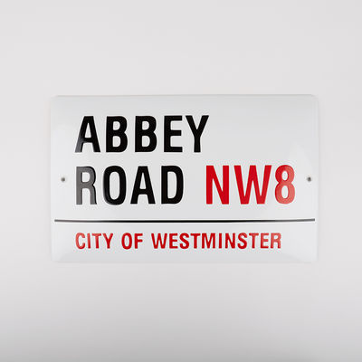 Abbey Road Studios: Abbey Road Large Street Sign