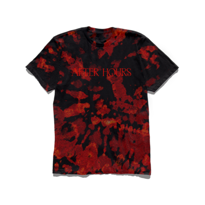 The Weeknd: AFTER HOURS BLEED DYE TEE