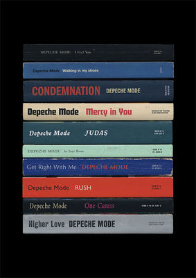Depeche Mode: 'Songs of Faith And Devotion' Art Print Albums As Books
