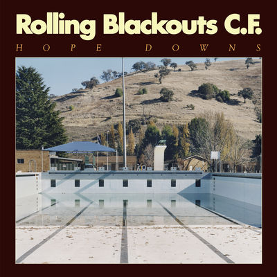 Rolling Blackouts Coastal Fever: Hope Downs: Marbled Light Blue Vinyl