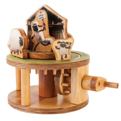 Shaun the Sheep: Flock Roundabout Timber Kits
