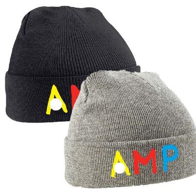 Annie Mac: AMP Embroidered Beanie
