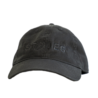 The Rolling Stones: Stones Black on Black Dad Hat