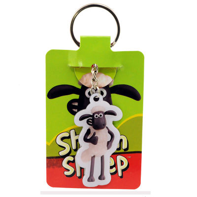 Shaun the Sheep: Metal Enamel Keyring