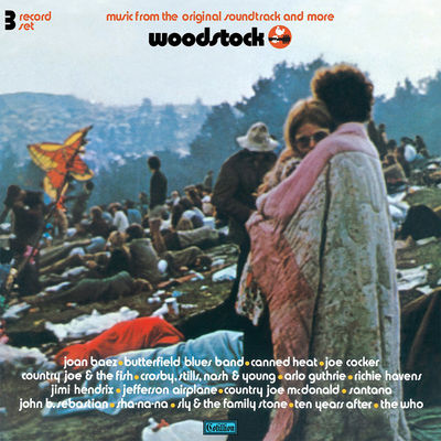Various Artists: Woodstock Music From OST [RSD 2019]